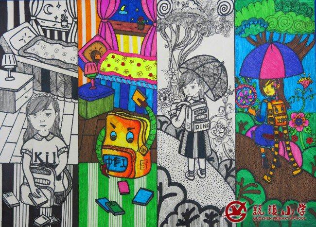 作品名称:《多功能书包》-第29届陕西省青少年科技创新大赛虢镇小