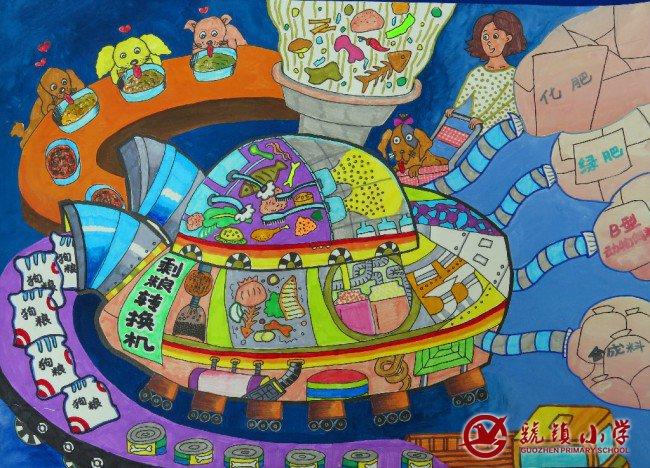第29届陕西省青少年科技创新大赛虢镇小学科幻画获奖作品